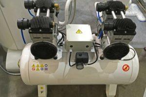 modern dental air compressor