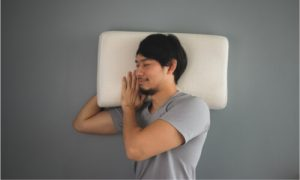 Get a pillow that can adjust to your neck and head structure.
